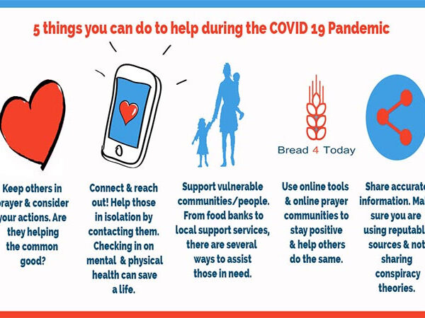 5 things you can do to help during the COVID 19 Pandemic