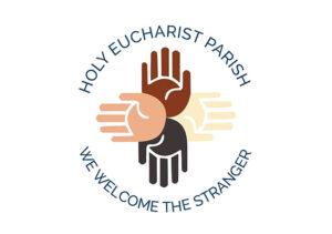 Holy-Euchrist-Parish-logo white